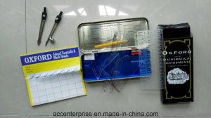 11 Pieces Mathematical Set, Drafting Metal Box Math Set pictures & photos