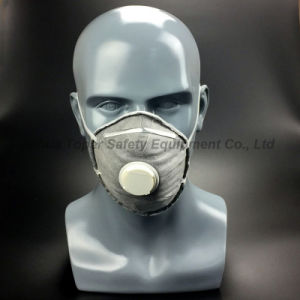 Disaposable Dust Mask Ffp2 with Valve Dust Respirator (DM2009) pictures & photos