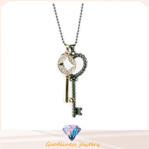 Key Shape Design Jewelry High Quality Woman′s Fashion Jewelry 925 Sterling Silver Jewelry Necklace (N6663) pictures & photos