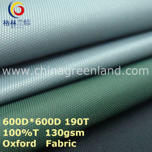 100%Polyester Oxford Plain Dyeing Fabric for Textile Tent (GLLML273) pictures & photos