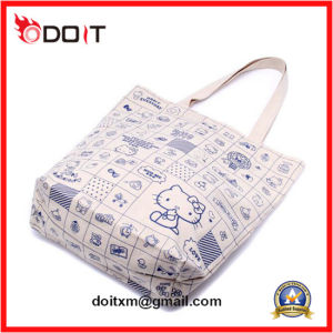 Cheap Custom Printed Cute Recycled Shopping Bags with Quick Delivery pictures & photos