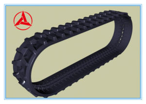 Sany Excavator Rubber Track Chain for Sy55 Sy60 pictures & photos