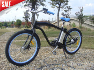 Chinese Cheap Electric Beach Cruiser 250W Brushless pictures & photos