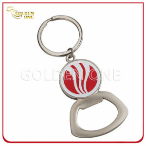 Creative Printed Epoxy Domed Logo Metal Bottle Opener Key Tag pictures & photos
