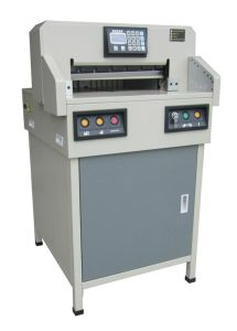 Professional Manufacturer Program-Control Paper Cutter Electric Paper Cutting Machine (WD-4806R) pictures & photos