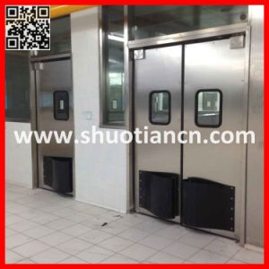 Industrial Stainless Steel Food Processing Doors (ST-006) pictures & photos
