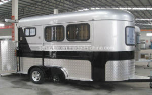 Straight Angle Standard Deluxe Horse Floats Trailer pictures & photos