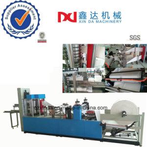 High Speed Full Auto Printing Serviette Tissue Embossed Folder Napkin Paper Machine Equipment pictures & photos