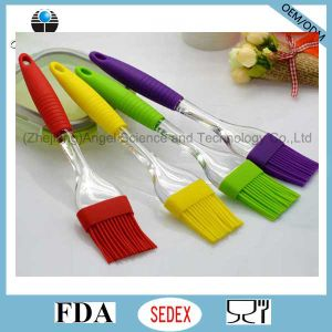 Transparent Silicone BBQ Brush Silicone Bread Brush for Holiday Sb06