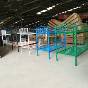 Black Strong Military Style Bunk Beds / Military Metal Bunk Beds / Army Metal Bunk Bed pictures & photos