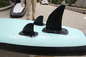 Wooden Pattern Light Weight Inflatable Surf Board for Sale pictures & photos