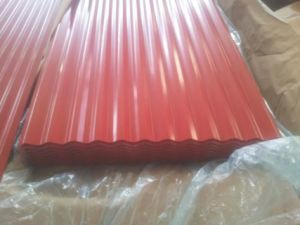 Zinc Aluminium Coated Steel Roofing Sheet pictures & photos