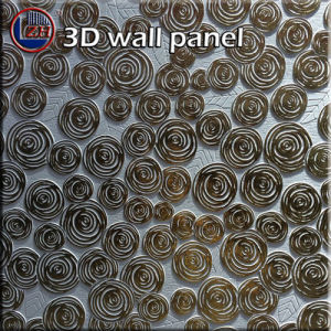 Zhihua 3D Embossed Interior Decorative MDF Wall Panel Il06 pictures & photos