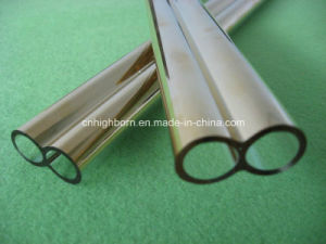 Excellent Quality Gold Coated Quartz Glass Twin Tube pictures & photos