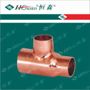 Reducing Tee/Special Tee/Copper Pipe Fitting/Pipe Fitting pictures & photos