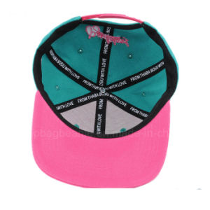 Cool Plain Custom Embroidery Customize Snapback Hats Flat Bill Hip Hop Cap Plain Snapback Hats pictures & photos