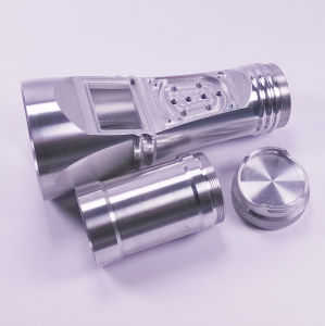 Custom Made CNC Machining Part of Aluminum Photograph Torch