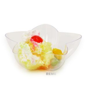 Plastic Bowl Disposable Bowl Pentagon Shaped Tray pictures & photos