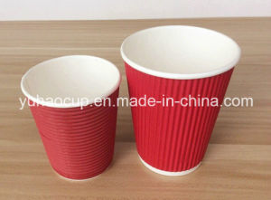 Customized Red Ripple Cup (YH-L204) pictures & photos