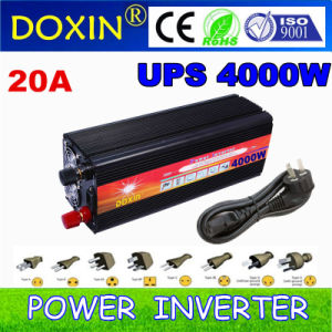 4kw LED Home Inverter with Charge Current 20AMP DC12V 220VAC pictures & photos