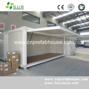 Low Cost Modular Container House for Shop pictures & photos