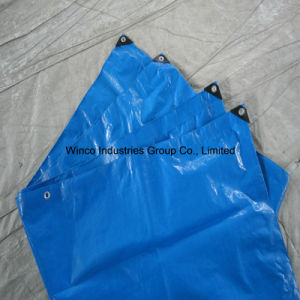 Tarpaulin China PE Tarpaulin Factory Sell Cheap Price Blue PE Tarpaulin Sheet pictures & photos