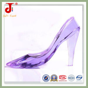 Purple Crystal Crafts Decoration Shoes (JD-CS-102) pictures & photos