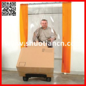 Soft Plastic PVC Strip for Freezer Door (ST-004) pictures & photos