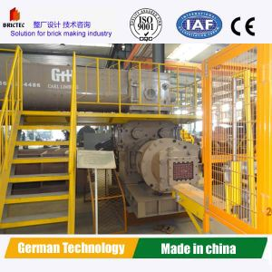 Vacuum Extruder Soil Brick Making Machine with Wearing Auger pictures & photos