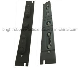 Customized Silicon Black Rubber Button pictures & photos