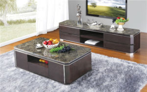 Anqutie Style Wooden TV Stand pictures & photos