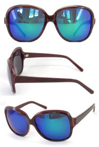 2015 Fashion Acetate Sunglasses for Women Sunglasses with Revo Lens pictures & photos