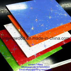 New PVC Coated MDF 1220*2440*18mm Board for Cabinet Board pictures & photos