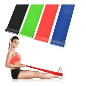 Exercise Resistance Loop Bands-Set of 4 Home Fitness Bands for Legs pictures & photos