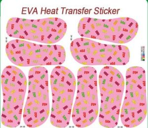 China EVA Customized Water Transfer Sticker Pepars pictures & photos