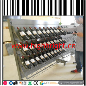 Shopping Mall Cosmetic Gondola Shelving with LED Display Lamp pictures & photos