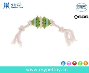 Cotton Rope with Nature Rubber Pet Toy pictures & photos
