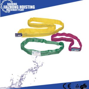 Double Ply Polyester Flat Webbing Sling with All Dimension pictures & photos