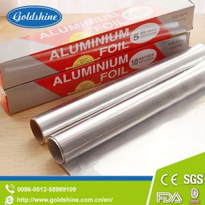 Household Aluminium Foil Rolls for Food Packaging Wraping Kitchen Use pictures & photos