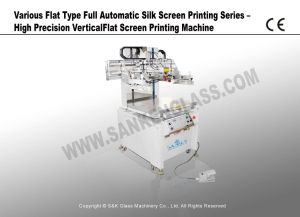 Automatic Silk Screen Printing Series-Precision Vertical Flat Silk Screen Printing Machine pictures & photos