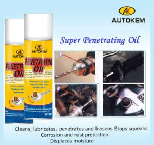 Clear Penetrating Oil, Multi-Purpose Maintenance Lube, Penetrating Lubricant pictures & photos