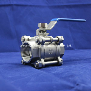Heavy Type BSPP/Bsp/G Triparttite Ball Valve pictures & photos