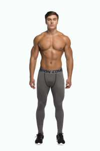 Compression Trousers Sports Jogging Pants for Men Running Bodybuilding (AK2015002) pictures & photos