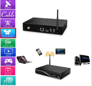 The Strongest Android Twin Tuner TV Receiver STB DVB-C pictures & photos