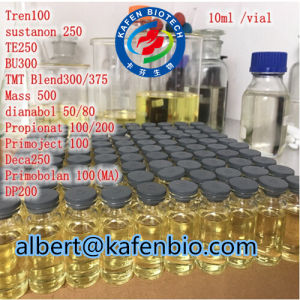 Oil Base Semi Finished Solution Tri Deca 300 Steroids Injection pictures & photos