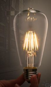 Popular Energy Saving Decorated LED Filament Bulb pictures & photos