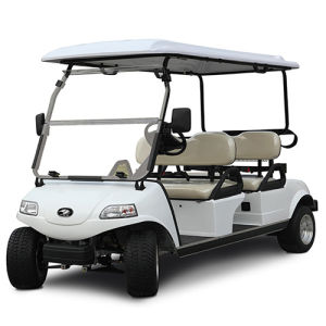 Electric Golf Car/Cart/Buggy,Sightseeing Car,Utility Vehicle (DEL3042G, 4-Seater) pictures & photos