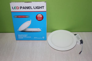 3W 6W 9W Round Square Shaped Aluminum LED Panel Lamp Lighting, LED Panel pictures & photos