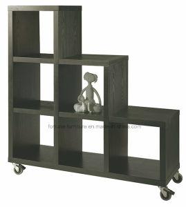Wooden Modern Black Brown Display Cabinet (3*2*1/2903702)