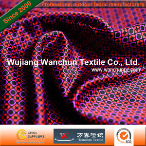 Printed Polyester Satin Fabric for Garment